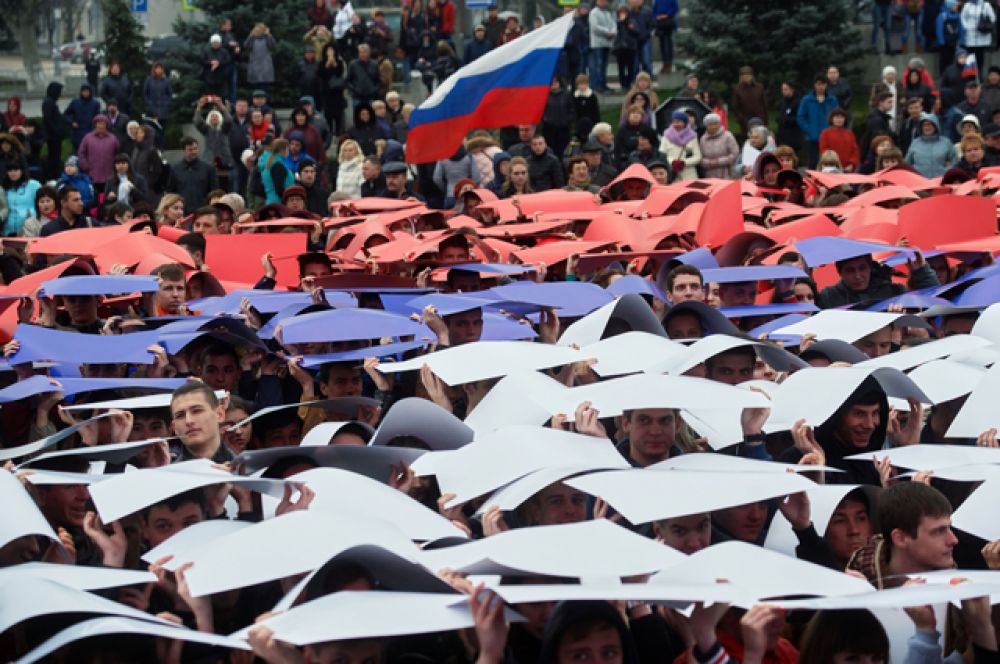 16 марта. В Крыму отметили третью годовщину воссоединения Крыма с Россией.