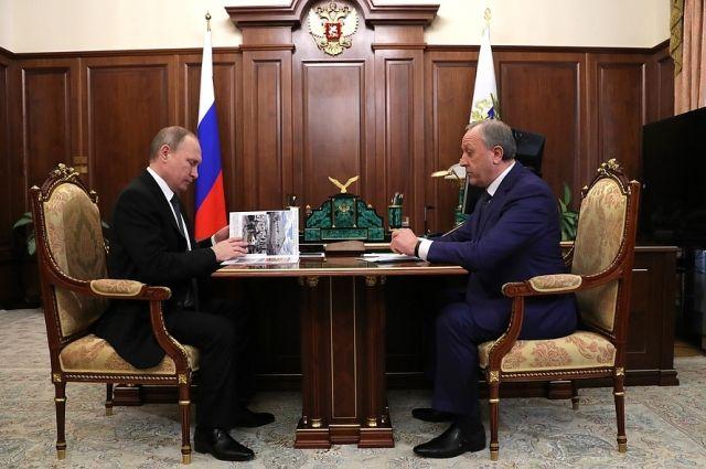 Президент назначил Валерия Радаева врио руководителя Саратовской области