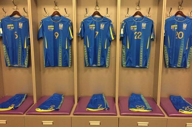 ФФУ представила новую форму сборной Украины, которая была разработана испанской компанией Joma