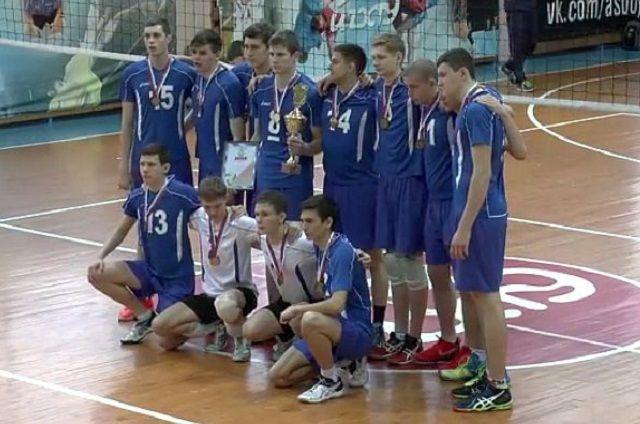 Пензенская команда завоевала «золото» чемпионата студенческой волейбольной лиги РФ
