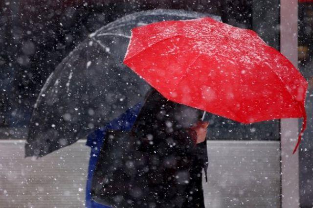 Погода навыходные: вУкраинском государстве пройдут дожди смокрым снегом