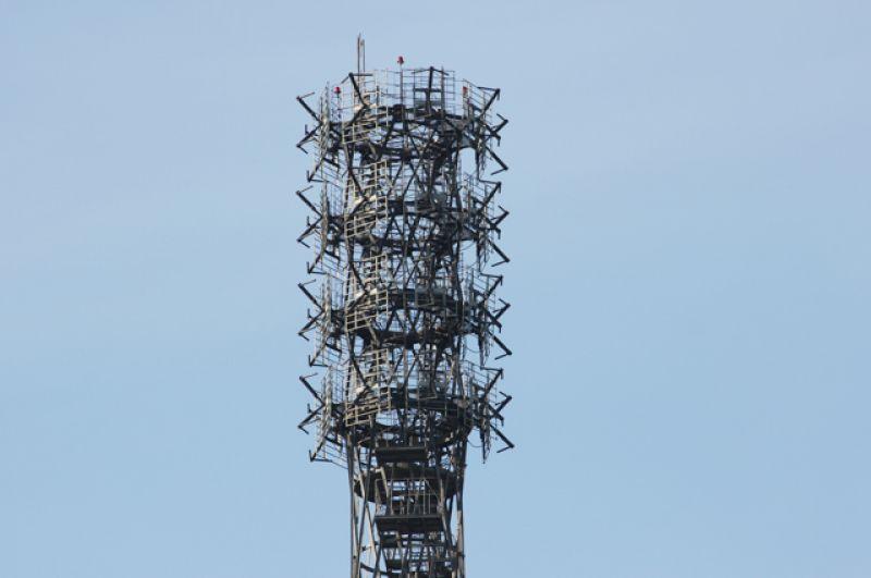 В сентябре 2015 года был завершён демонтаж седьмой «антенной» секции Шуховской башни, построенной в 1991 году.