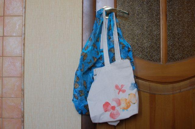 В украденной сумке были продукты.