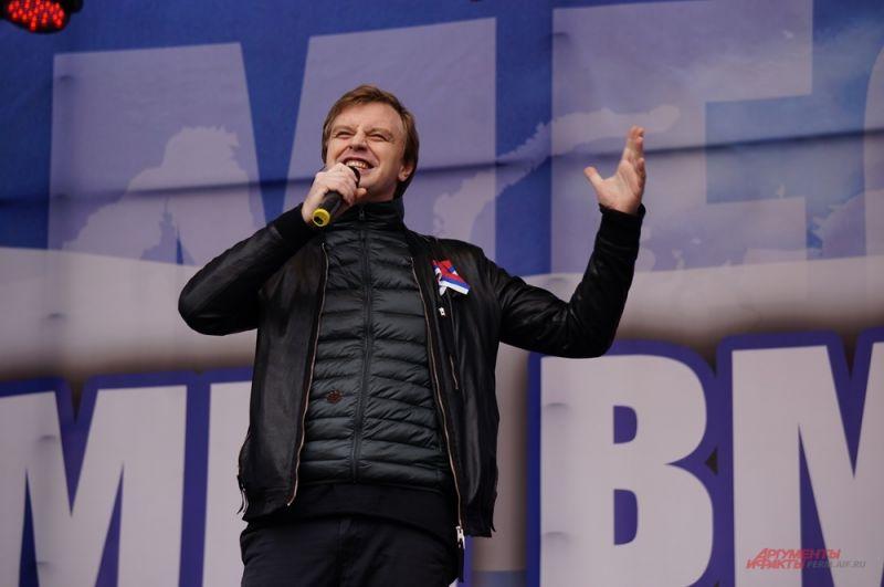 Алексей Гоман исполнил песни