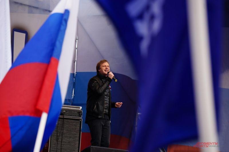 Главным гостем праздника стал певец Алексей Гоман.