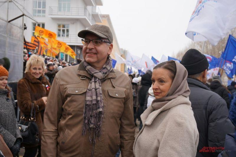 На празднике побывал Игорь Сапко с супругой Ольгой.
