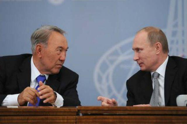 Путин обсудил сНазарбаевым минувшие вАстане мирные переговоры поСирии