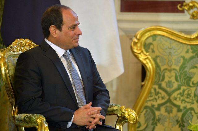 Президент Египта впервые приедет в США с официальным визитом