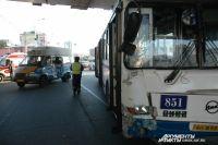 Водитель Нивы спас пешехода