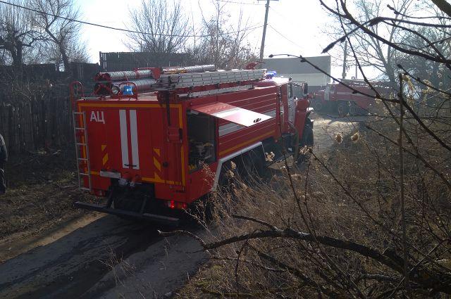 Пожарные обнаружили тело мужчины