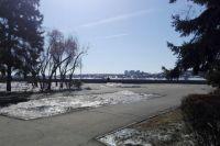 Весна в Иркутске.