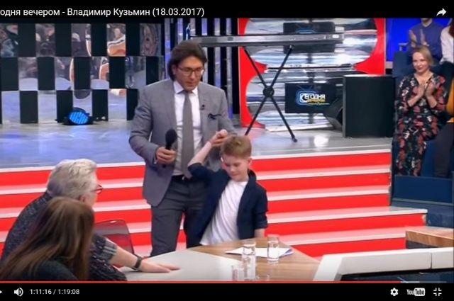 Юный омич спел песню Кузьмина  «Симона» на шоу «Голос.Дети».