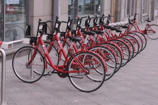 Московские парки вновь открывают пункты проката велосипедов