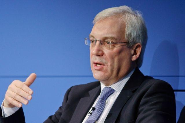 ПостпредРФ при НАТО поведал  о вероятной  «гонке вооружений»