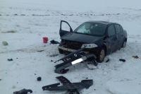 В Первомайском районе в ДТП пострадала жительница Башкирии