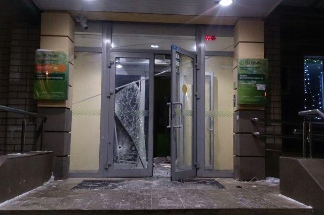 Задержаны правонарушители, взорвавшие банкомат вЯрославле