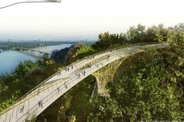 Парки «Крещатый» и «Владимирская горка» свяжет мост