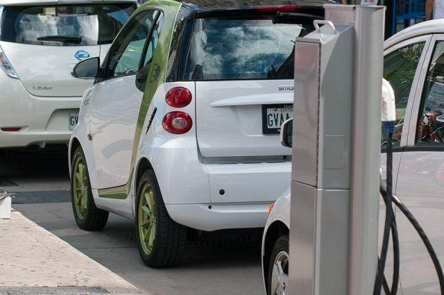 Среди лидеров поразвитию электромобилей