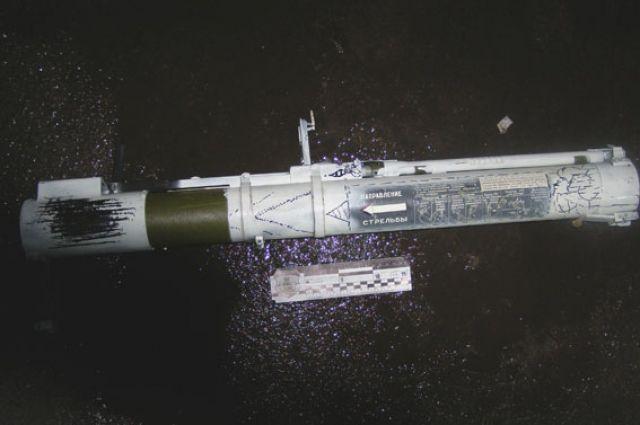 Неизвестные стреляли из противотанкового гранатомета