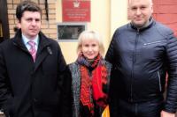 Анжела Сущенко получила право на свидание с мужем