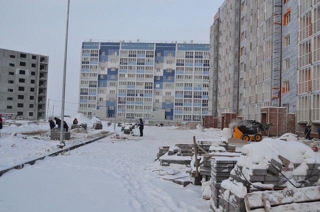 За зиму из Надыма вывезено более 200 тысяч кубометров снега.