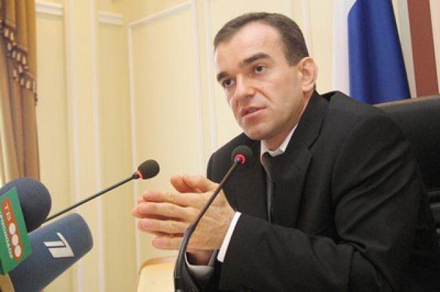 Путин наградил губернатора Кубани орденом Александра Невского