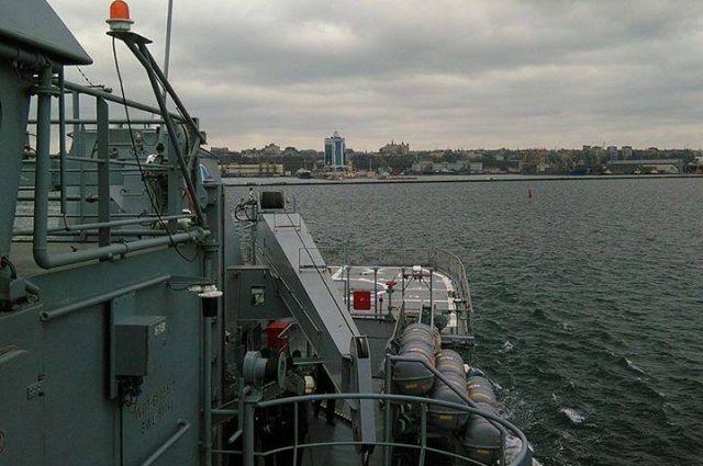 Корабли НАТО ищут «мины» уберегов Одессы