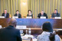 Встреча губернатора Югры с членами экспертного механизма ООН по правам КМНС.
