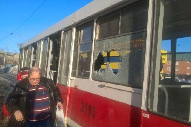 Движение трамваев было приостановлено