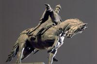 Памятник Юрию Долгорукому в Москве.