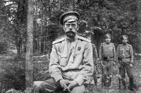 Одна из последних фотографий Николая II, сделанная во время его ссылки в Тобольске.