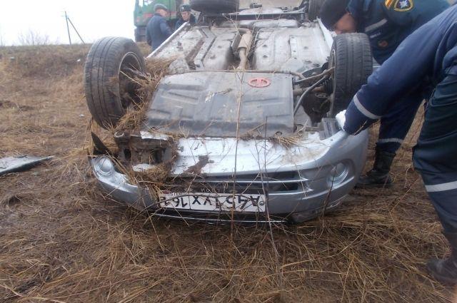ВРостовской области шофёр  перевернувшейся Лады был нетрезв