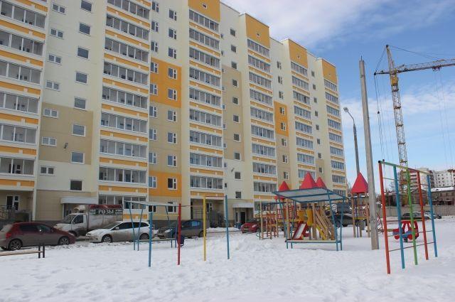 Один из домов нового жилого комплекса на улице Судозаводской уже сдали.