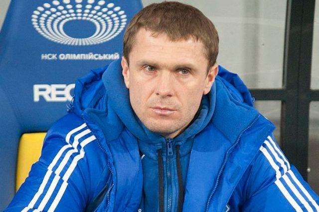 Сергей Ребров возглавил «Динамо» в 2014 году