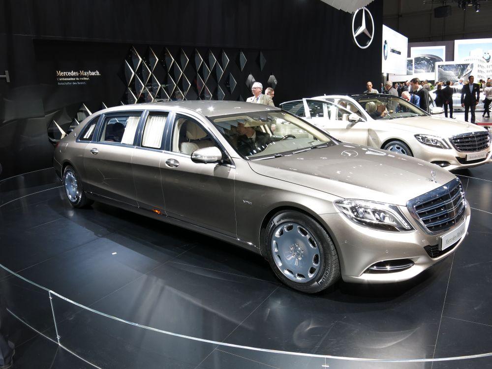 Mercedes-Maybach. Стоимость: от 1,5 млн евро.