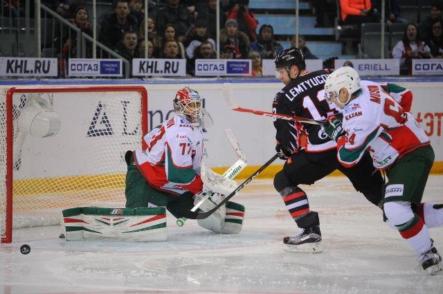 Последний матч команда провела с казанским «Ак Барсом».