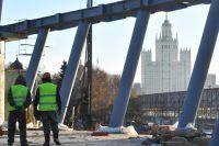Строительство парка «Зарядье».