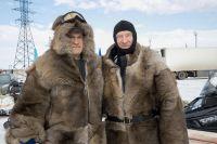 В Новом Уренгое финишировал снегоходный пробег экстремалов.