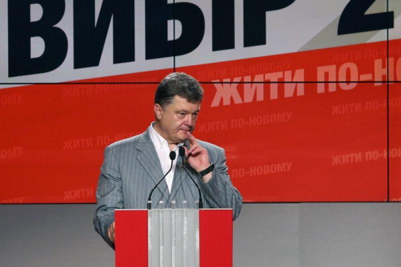 Во время инаугурации в 2014 году Петр Порошенко выглядел бодро и свежо