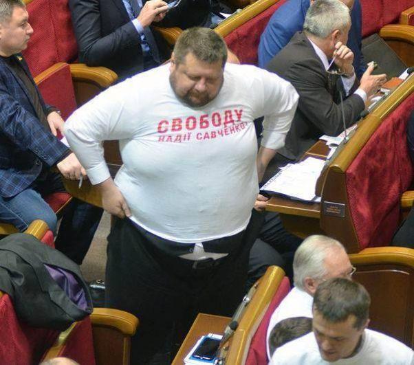 Когда Игорь Мосийчук только пришел в политику, его вес был около 200 килограмм