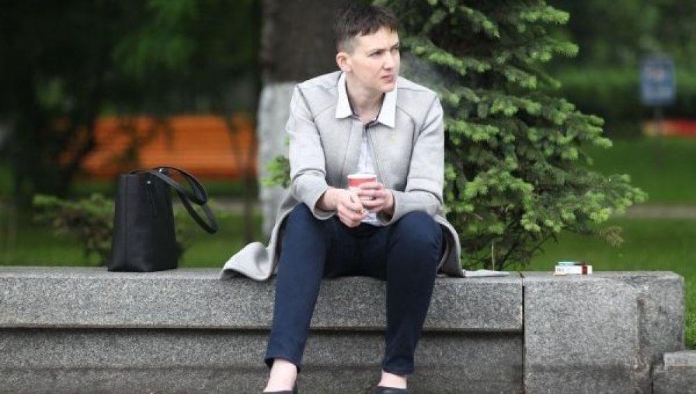 После освобождения с тюрьмы и прихода в Верховную Раду Савченко выбрала для себя мужской стиль