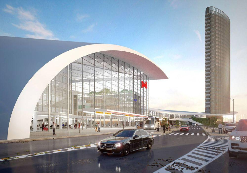 снос запланирован на второй стадии, когда на месте «Казань-2» появится новый автовокзал, гостиница, связанные галереями с метро, новым ж/д вокзалом