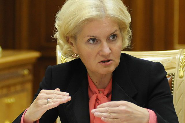 Вице-премьер Ольга Голодец предложила Путину поднять  МРОТ