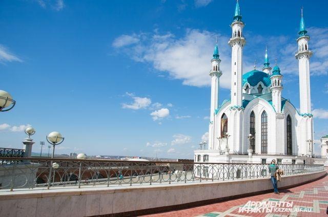 Казанский кремль - в списке объектов всемирного наследия ЮНЕСКО.