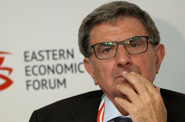 Глава совета директоров банка «Интеза» Антонио Фаллико.