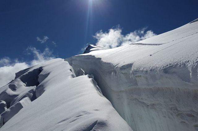 Снегозапасы вгорах Алтая превышают среднегодовые в2,5 раза