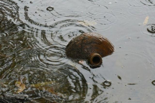 Большая вода угрожает не только жилым домам, но и дорогам.