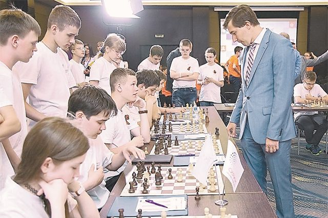Гроссмейстер Сергей Карякин регулярно проводит здесь шахматные турниры.