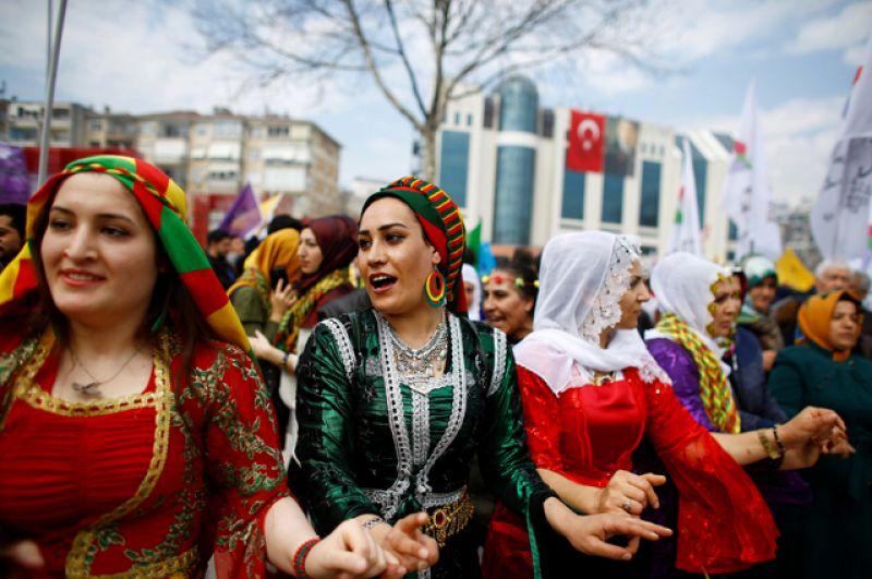 Праздник Навруз в Стамбуле.