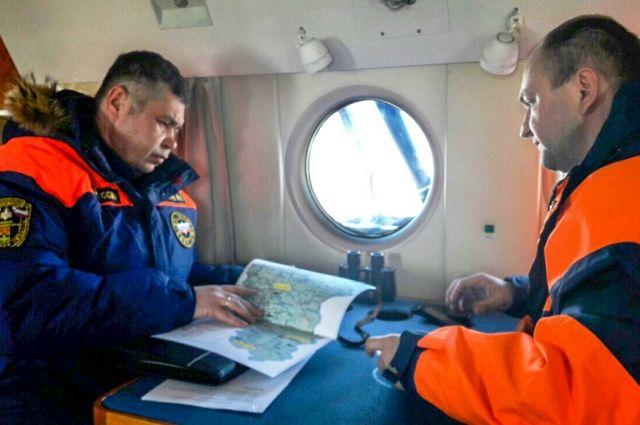 Аэровизуальное наблюдение позволило оценить состояние льда на реках Кузбасса.